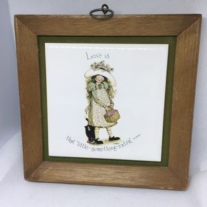 Other - Holly Hobby Wall Plaque